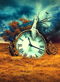 surreal-artwork-time-clock